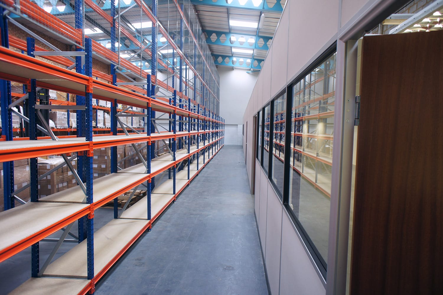Commercial Warehouse Fitting